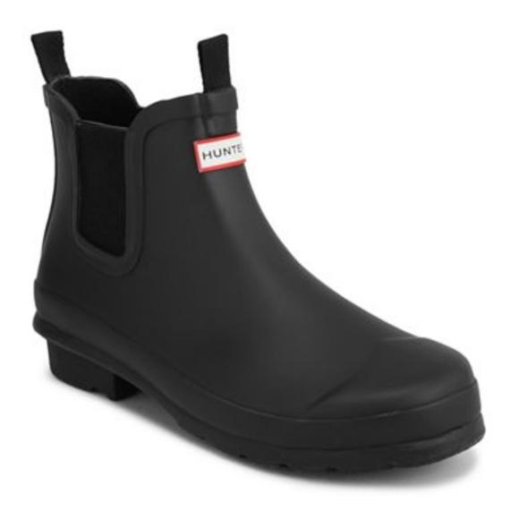 dcb66b95e Hunter Shoes | Chelsea Rubber Rain Ankle Boots Us 9 | Poshmark